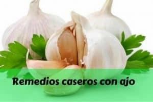 Remedios caseros con ajo