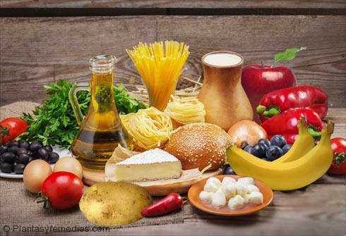Los alimentos ricos en Carbohidatos