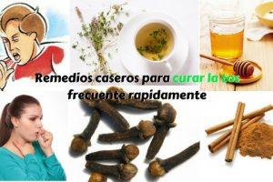 metodos caseros para curar la tos frecuente rapidamente