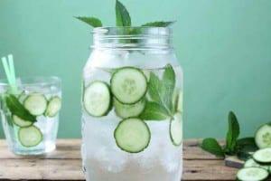 agua infundida -vitaminada