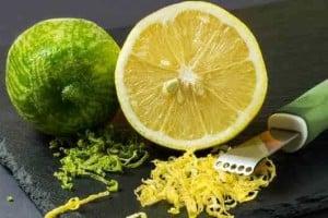Limón rallado o cascara beneficios para la diabetes