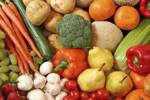Frutas y verduras (vegetales) para reducir la presión arterial (hipertension )