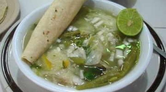 Sopa con epazote