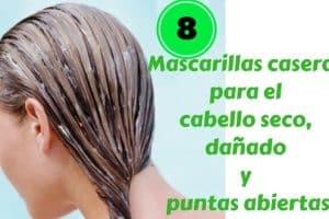 Mascarillas caseras para el cabello seco, dañado y puntas abiertas